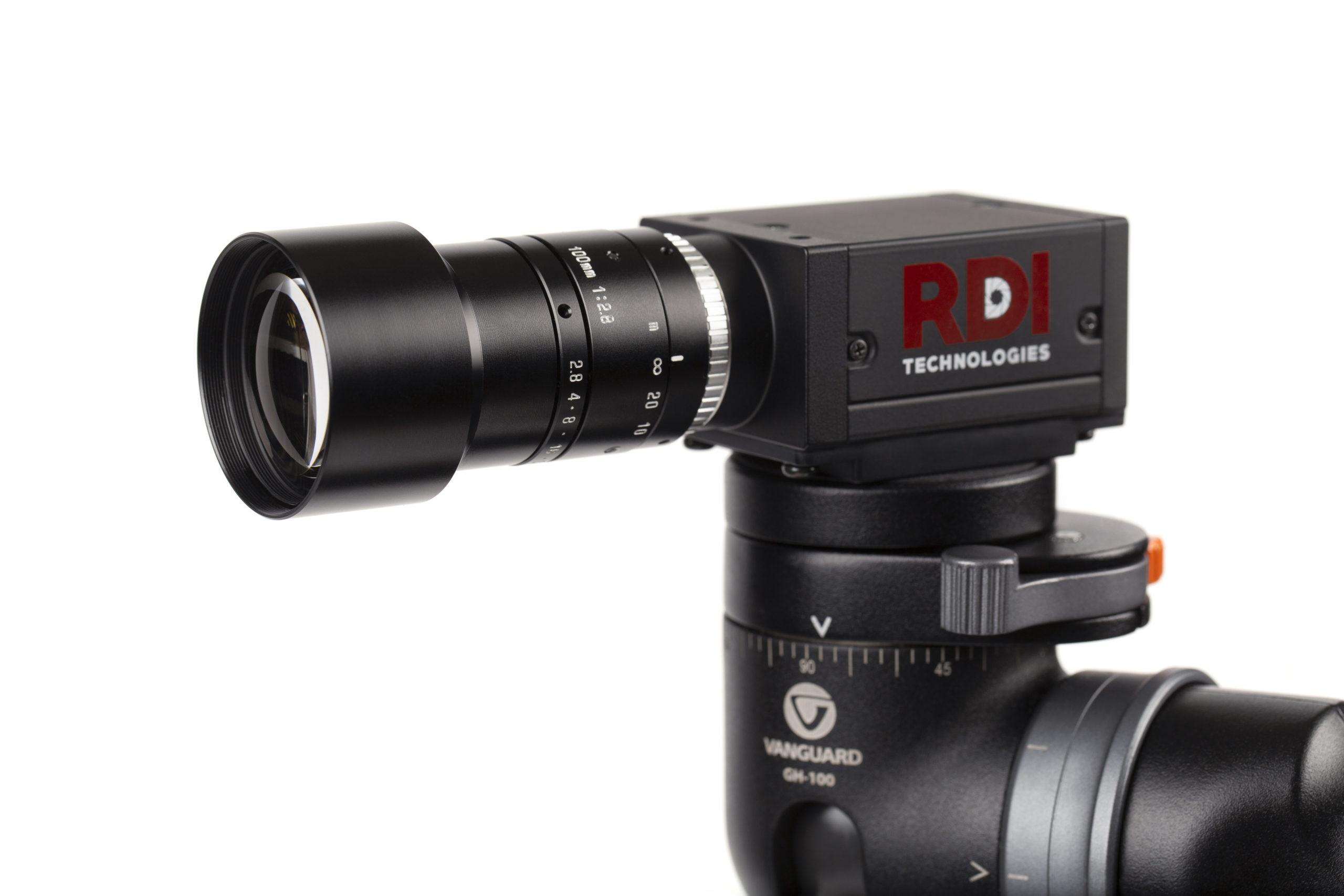 Iris M 100mm lens closeup