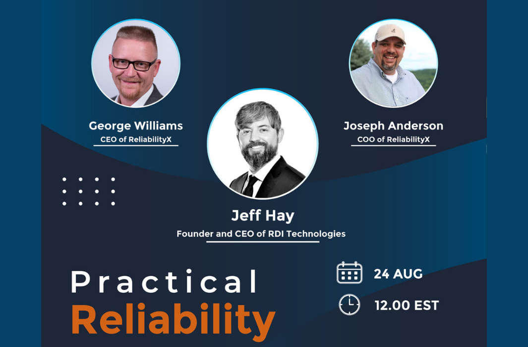 RDI CEO Jeff Hay Featured Guest on Practical Reliability Podcast