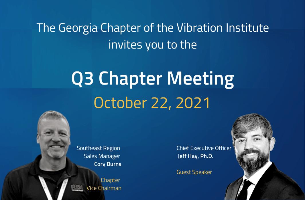 GA Vibration Institute 2021 Q3 Meeting